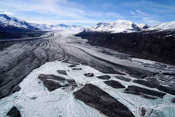 Glaciar de Alaska