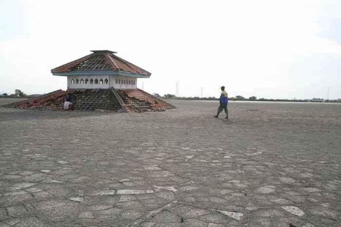 ciudad de Sidoarjo sepultada