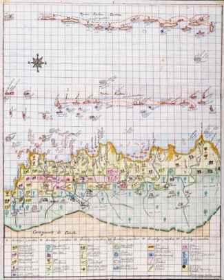mapa de la comunidad Urgandi, Panama