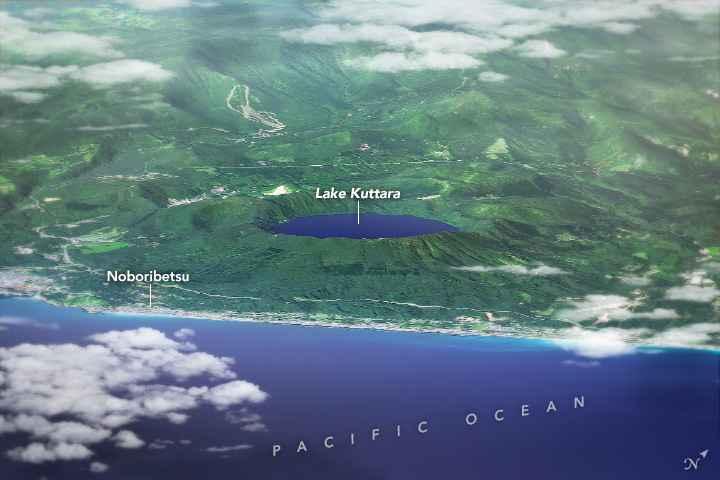lago Kuttara en 3D