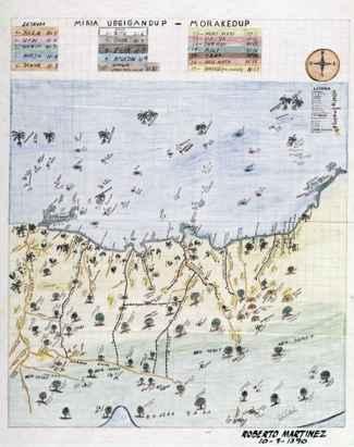 mapa indígena, Panama