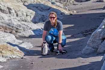 pingüinos de cemento de Christina Hagen