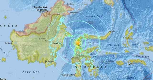 terremoto Minahasa-Donggala, Indonesia