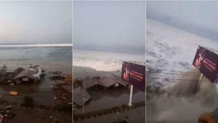 tsunami en Sulawesi, Indonesia
