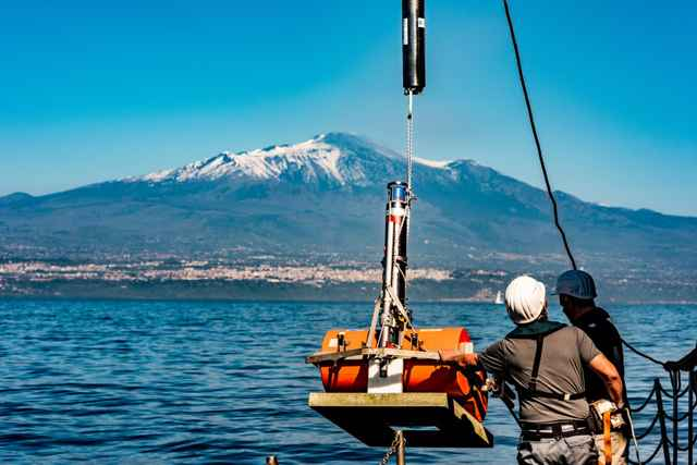 Volcán Etna peligro de tsunami