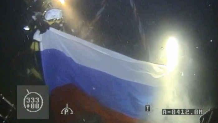 buzos rusos récord de profundidad