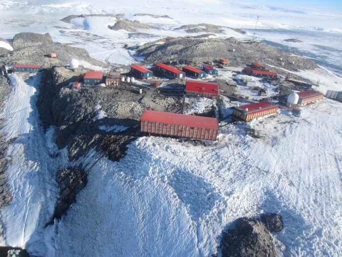 estación polar Dumont d Urville