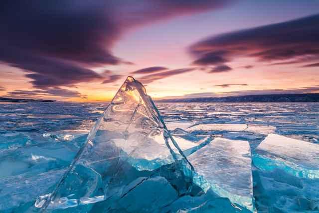 hielo marino delgado