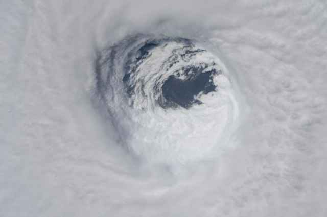 ojo del huracán Michael