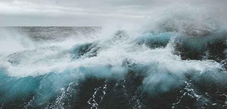 olas rugientes