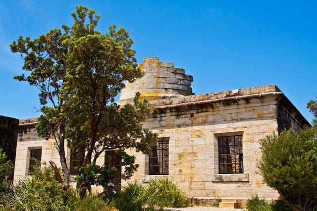 ruinas del faro del Cabo San Jorge, Australia