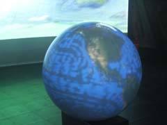 """Globo terráqueo (Exposición """"planetatierra"""")"""