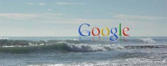 google en el mar