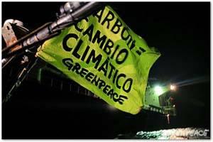 Greenpeace denuncia al carbón