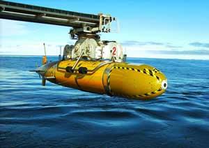 submarino robótico Autosub300