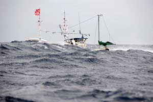 barco pesquero japonés de atún