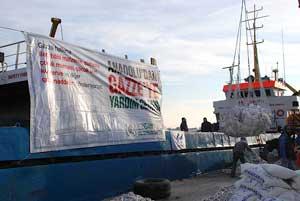 carga humanitaria flotilla por libertad Gaza