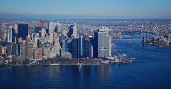 distrito financiero, New York