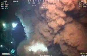 escape de petróleo golfo de México