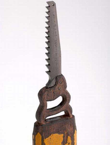 esculturas en mina lápiz, sierra