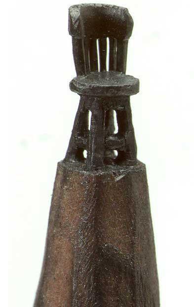 esculturas en mina de lápiz, silla
