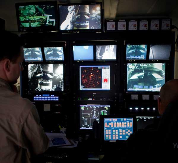 estación de control de ROV