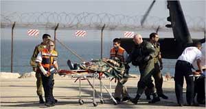 herido ataque Israel flotilla por libertad de Gaza