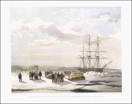 HMS Investigator en Mercy Bay