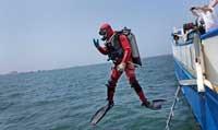 inmersión buzo puerto Alejandría