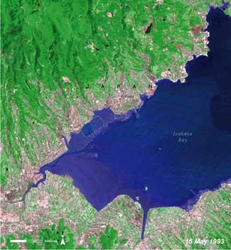 Bahía de Isahaya, Japón 1993