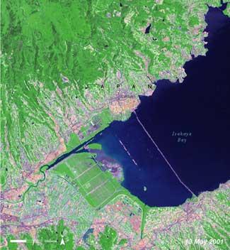 Bahía de Isahaya, Japón 2001
