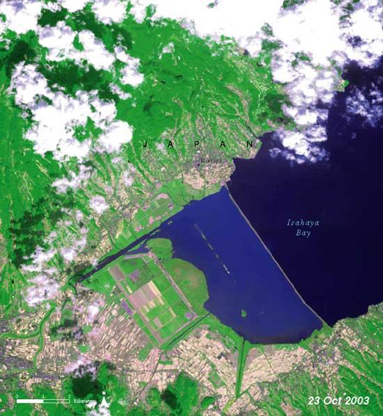 Bahía de Isahaya, Japón 2003