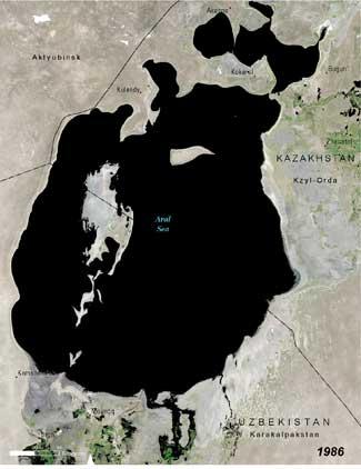 Mar de Aral, 1986