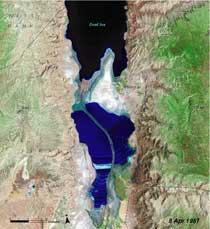 Mar Muerto, 1987