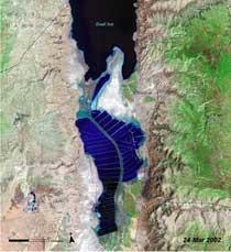 Mar Muerto, 2002
