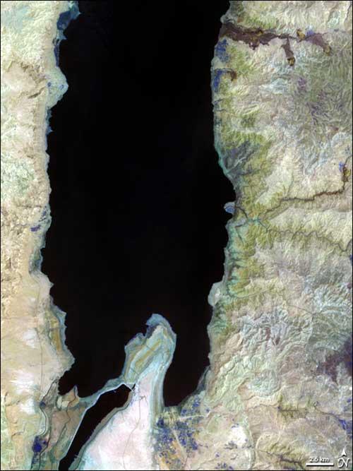 Mar Muerto, 2006