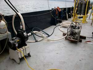 medidor de presion agua marina