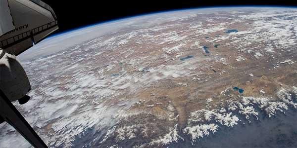 meseta tibetana, Estación Espacial Internacional