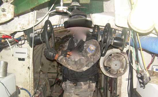 narco-submarino descubierto en Ecuador