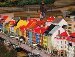 Legoland, Nyhavn, Copenhague, Dinamarca
