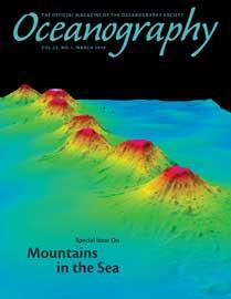 Revista Oceanography, especial Montañas submarinas