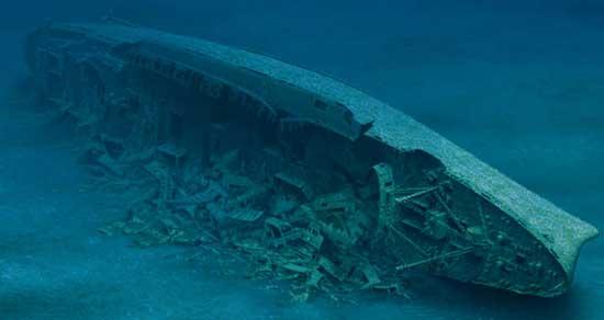 pecio del Andrea Doria