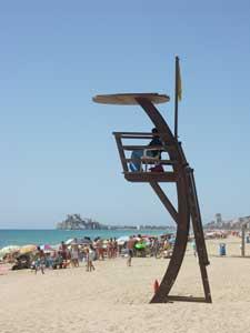 Peñíscola, puesto socorrista playa norte
