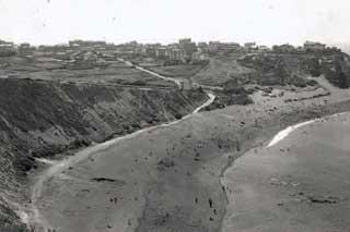 Playa de Algorta, Vizcaya antes