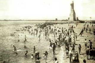 Playa Punta del Sebo, Huelva antes