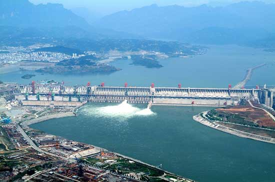 presa de las Tres Gargantas, China