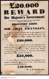 recompensa búsqueda expedición Franklin