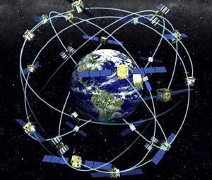 red de satélites GPS