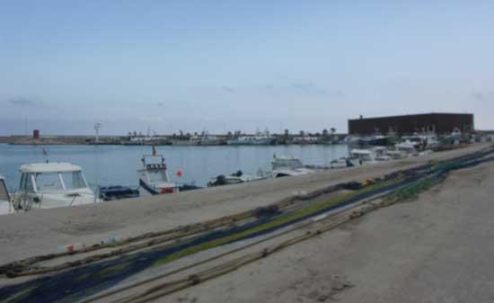 redes de pesca artesanal, puerto de Benicarló