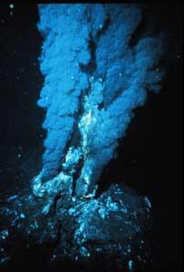 respiradero volcánico hidrotermal